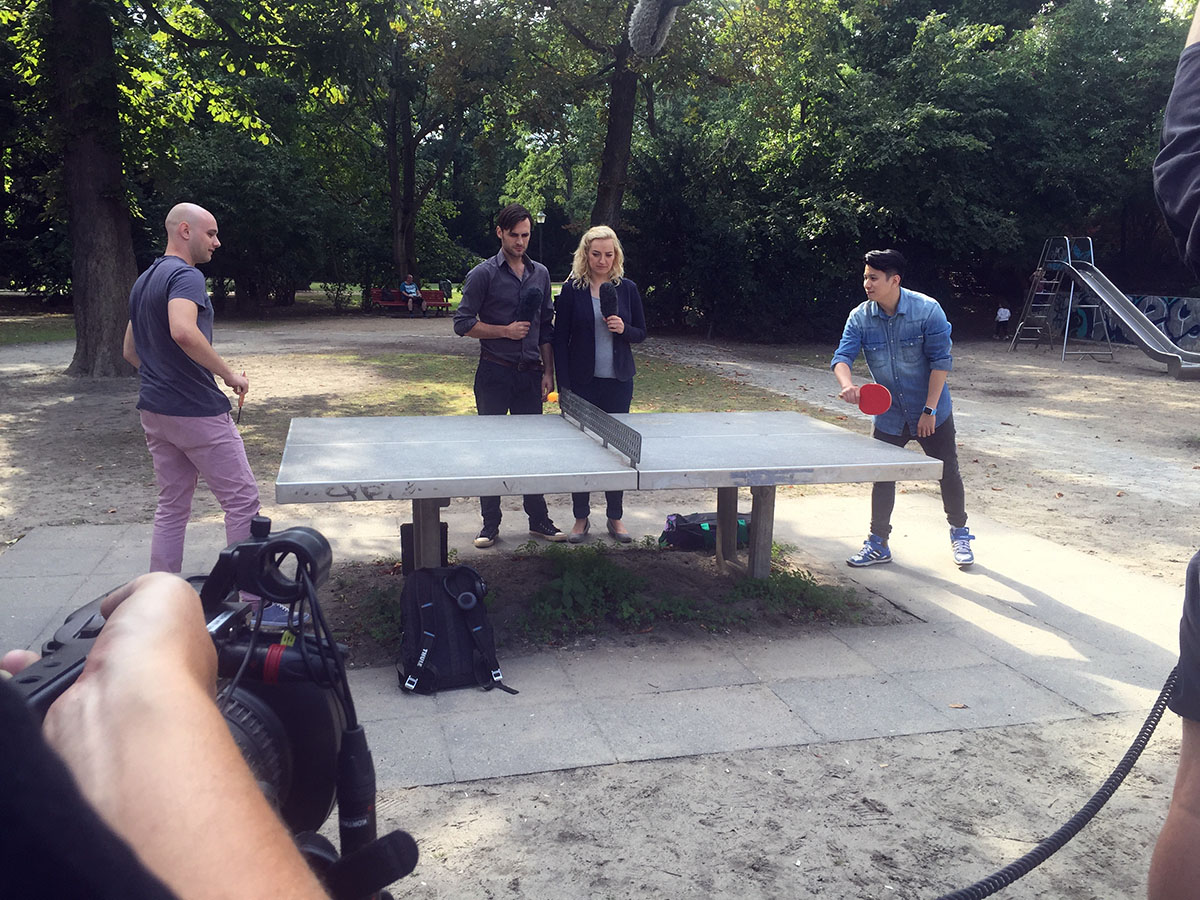 Wildfang-Video-Produktion-Panorama-A2-Cornelsen-Verlag-Berlin-Tischtennis-Heinrich-Lassen-Park